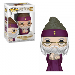 Dumbledore con Harry bebé