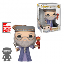Dumbledore con Fawkes 10""